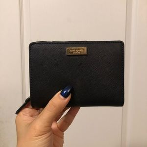 KATE SPADE ✨ Black Saffiano Leather Wallet
